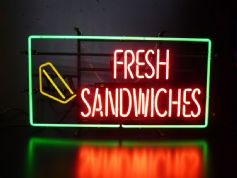 Fresh Sandwiches Neon Sign